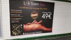 Lok Siam Spa - Alésia