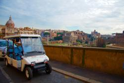 Rome Golf Car Tour