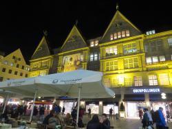 View over the Marienplatz