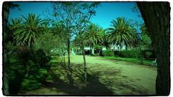 La Plaza Principal del Pueblo Garzon