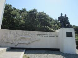 ‪Monument Dedicated to Medical Assistance Units  in the Korean War‬