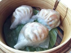 Dim sum buffet with Hua Hin sea view