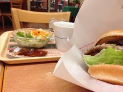 Mos Burger Chitose Salmon Park