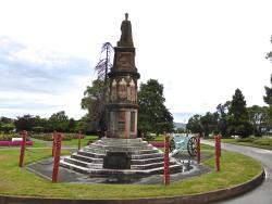 Arawa War Memorial Statue