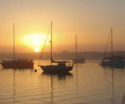 Best view of the quiet part of Morro Bay harbor