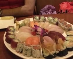 O melhor sushi que já comi!