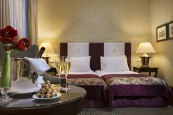 Esplanade Zagreb Hotel Superior Room Twin Detail