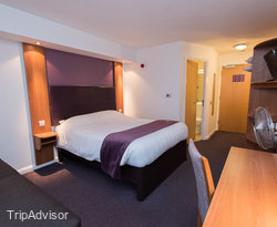 The Second Double Room at the Premier Inn Christchurch (East) Hotel