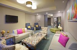 Ultra Savy Suite Living Room
