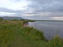 Lake behind the Galleri