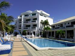 Decent hotel on a gorgeous beach