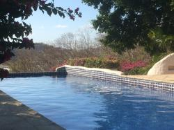 The pool at the upper bar