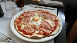 Almuerzo en Barcelona con amigos