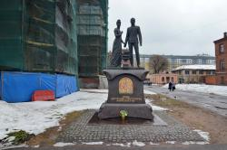 Monument to Nicholas II and Empress Aleksandra Fyodorovna