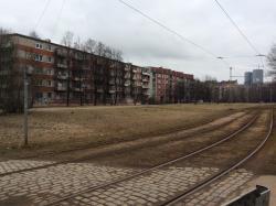 Soviet Block across from victory Memorial