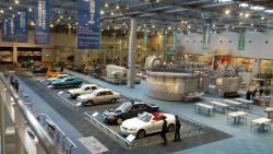 Toyota museum for industri og teknologi