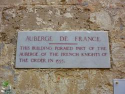 Auberge de France in Vittoriosa - Birgu