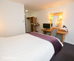 The Triple Room at the Premier Inn Leeds East Hotel