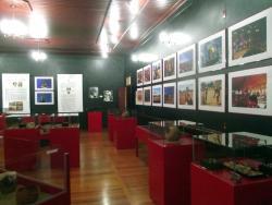 Sala de exposição do Museu.