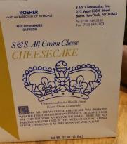 S&S Cheesecake