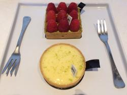 A must try - Lemon Tart!