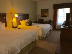 Clean rooms & friendly staff