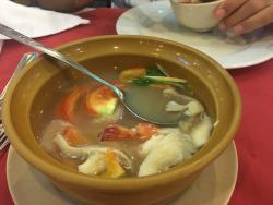 Dry seafood