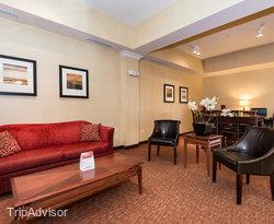 Lobby at the Sleep Inn & Suites
