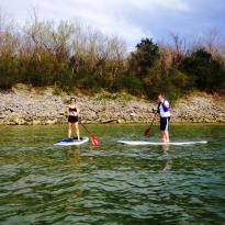 Forrest Paddle Boarding