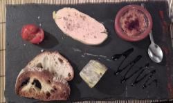 Trio de foie gras