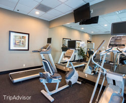 Fitness Center at the Holiday Inn Express Los Angeles-LAX Airport