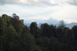 Osorno in the clouds