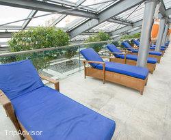 The Pool at the Sheraton Mendoza Hotel