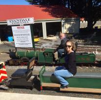 Evandale Train Rides