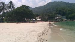 View along the beach from the Promtsuk Buri