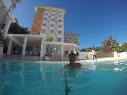 Average resort that needs renovation