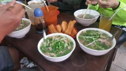 Delicious Pho Bo at Pho Gia Truyen (49 Bat Dan, Old Quarter, Hanoi)