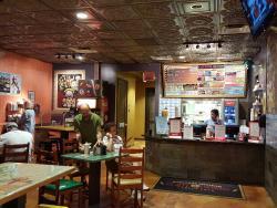 El Jefe Counter and Salsa Bar