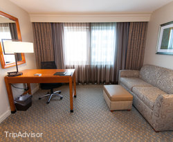 The King Room at the Hilton New York JFK