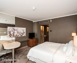 The Superior King Room at The Westin Warsaw
