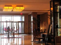 Front entrance, lobby