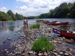 Balade au fil de la Dordogne en canoé : paisible et ressourçant !