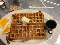 Very Good Off-Strip Breakfast!!