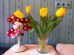 Весна в кафе