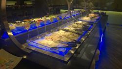 Speisen frisch auswählen und zubereiten lassen