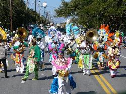 Barabbas & the Tribe at the Tybee parade
