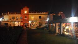 Night view zostel front