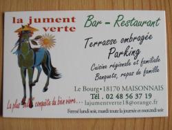 Restaurant La Jument Verte