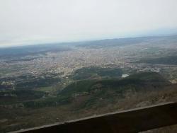 View of Tirana from Ballkoni i Dajtit