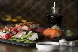 Sushi plato